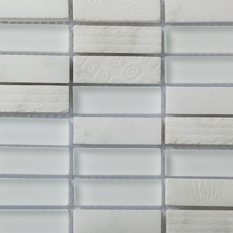 Retangle Bianco Carrara
