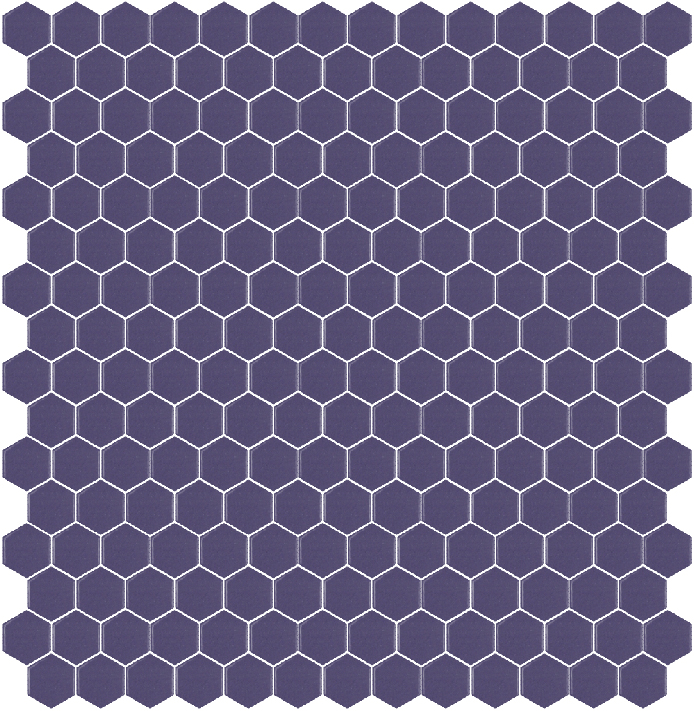 308B MAT hexagony