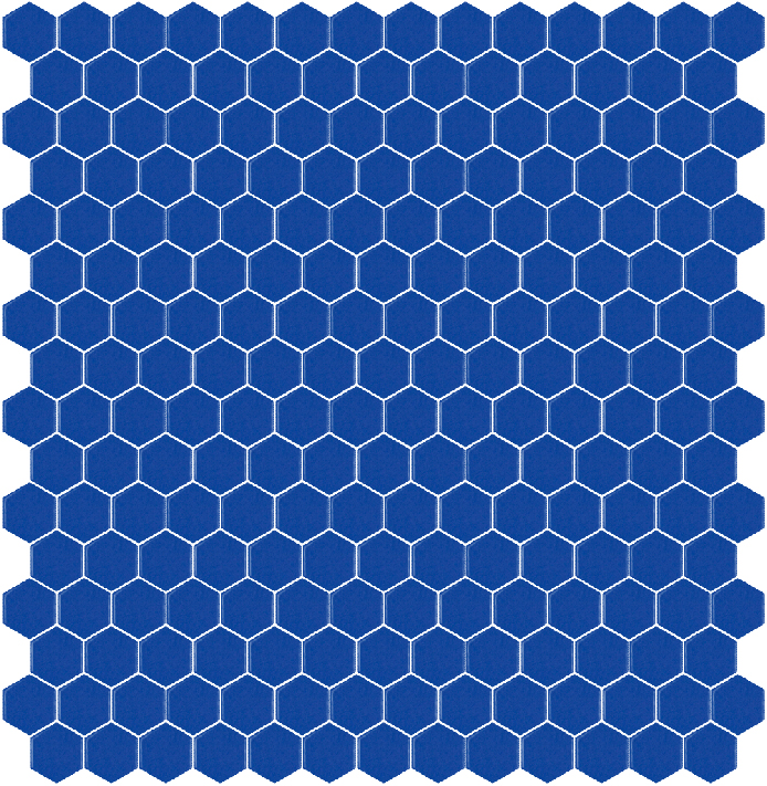 320C MAT hexagony