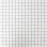 Obklad mozaika skleněná White