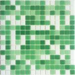 Obklad mozaika skleněná MIX Green
