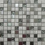 Kamenná mozaika se sklem London Metal