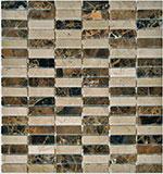 Kamenná mozaika se sklem MIX Metro Emperador