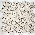 Keramická mozaika Cream